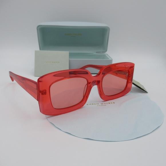 Karen Walker Loveville Sunglasses Glasses 60s ModNwt by Karen Walker